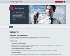 Template 3 Site Builder