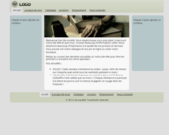 Template 9 Site Builder